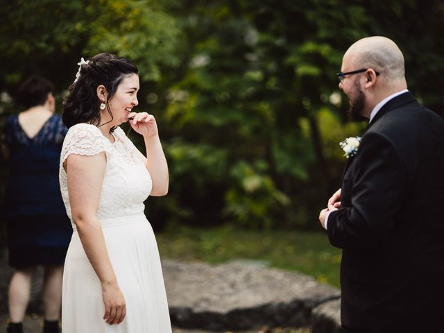 Mitchell and Krista's wedding in Ancaster, Ontario 15