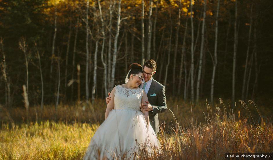 Mark and Zahra's wedding in Calgary, Alberta