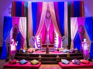 The wedding of Sangita and Shiv 1