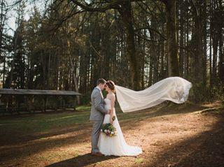 The wedding of Tegan and William