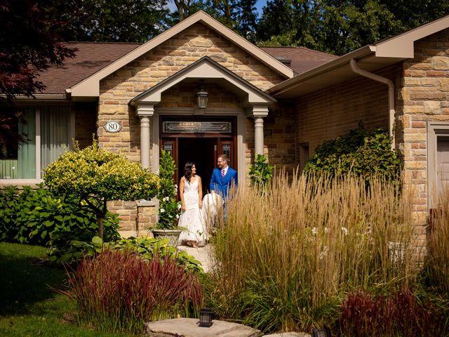 Charles and Christina's wedding in Toronto, Ontario 6