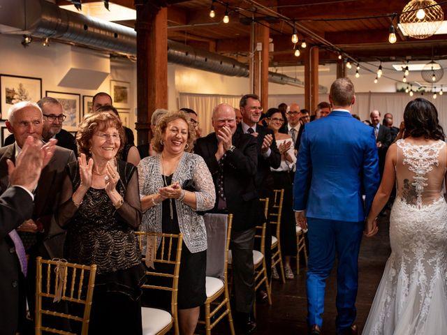 Charles and Christina's wedding in Toronto, Ontario 38