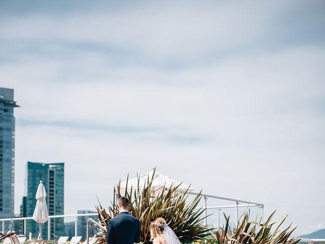 Wyatt and Tyra's wedding in Vancouver, British Columbia 27
