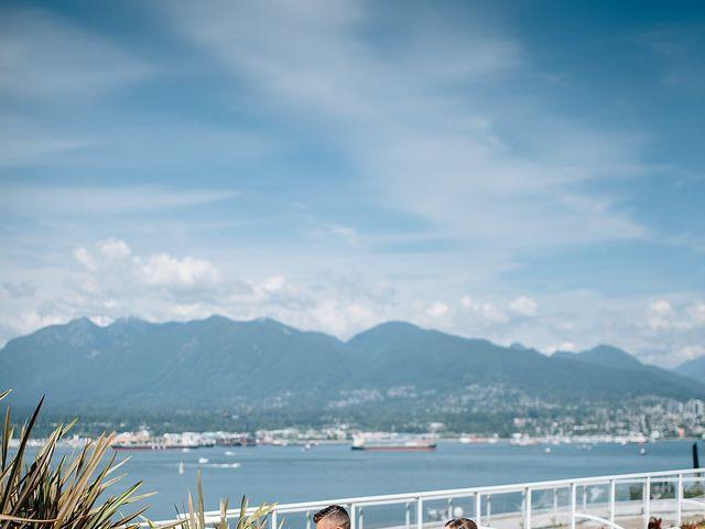 Wyatt and Tyra's wedding in Vancouver, British Columbia 28