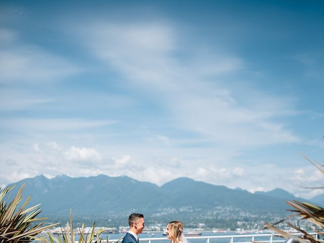 Wyatt and Tyra's wedding in Vancouver, British Columbia 30
