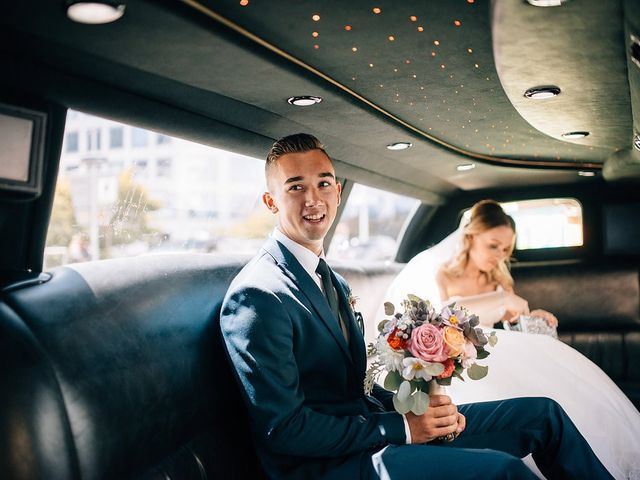 Wyatt and Tyra's wedding in Vancouver, British Columbia 1