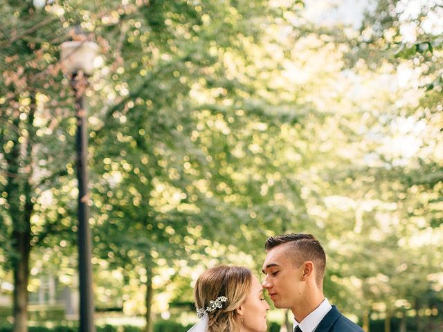 Wyatt and Tyra's wedding in Vancouver, British Columbia 36