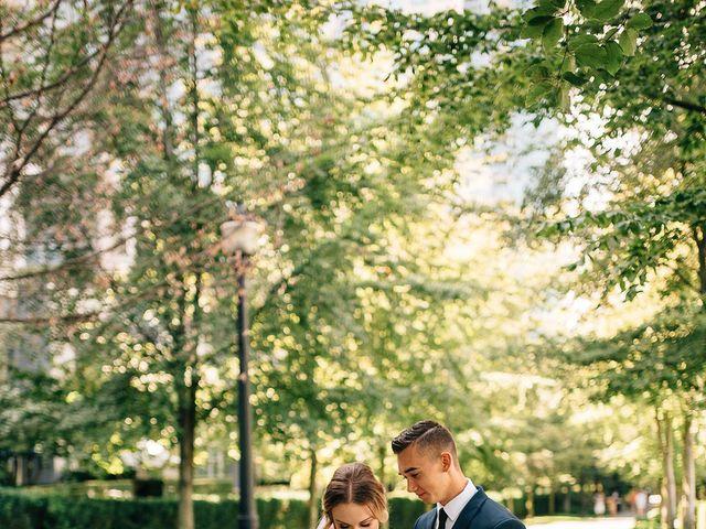 Wyatt and Tyra's wedding in Vancouver, British Columbia 37