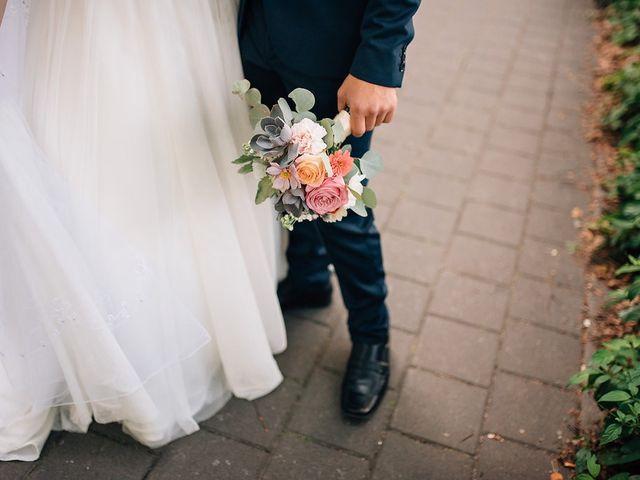 Wyatt and Tyra's wedding in Vancouver, British Columbia 39