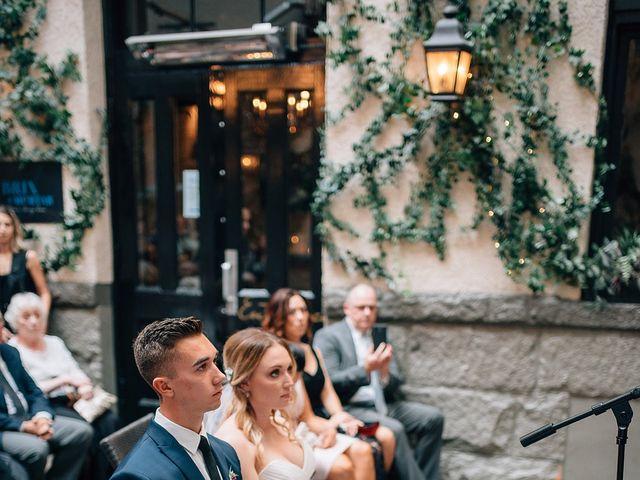Wyatt and Tyra's wedding in Vancouver, British Columbia 79