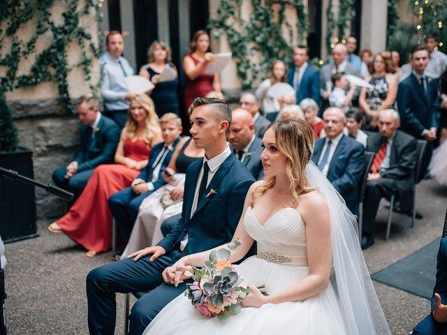 Wyatt and Tyra's wedding in Vancouver, British Columbia 80