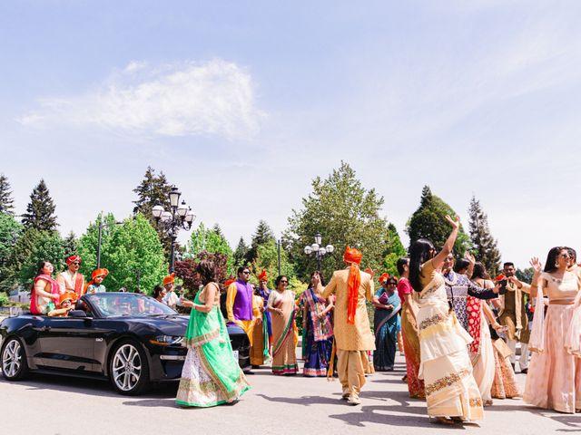 Tanmay and Sasha's wedding in Burnaby, British Columbia 7
