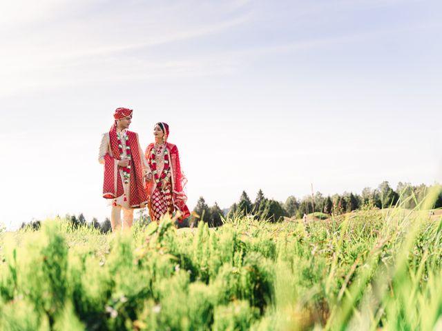 Tanmay and Sasha's wedding in Burnaby, British Columbia 22