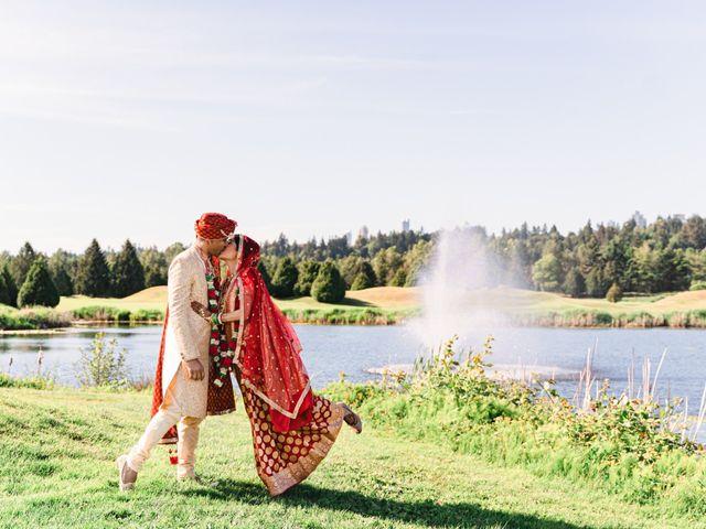 Tanmay and Sasha's wedding in Burnaby, British Columbia 23