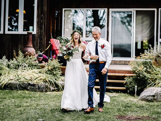 Bethany and Todd's wedding in Coboconk, Ontario 12