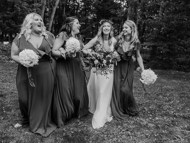 Bethany and Todd's wedding in Coboconk, Ontario 13