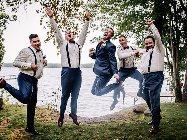 Bethany and Todd's wedding in Coboconk, Ontario 14