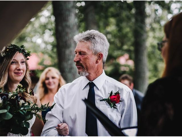 Bethany and Todd's wedding in Coboconk, Ontario 1