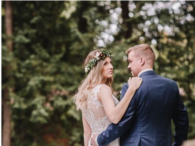 Bethany and Todd's wedding in Coboconk, Ontario 2