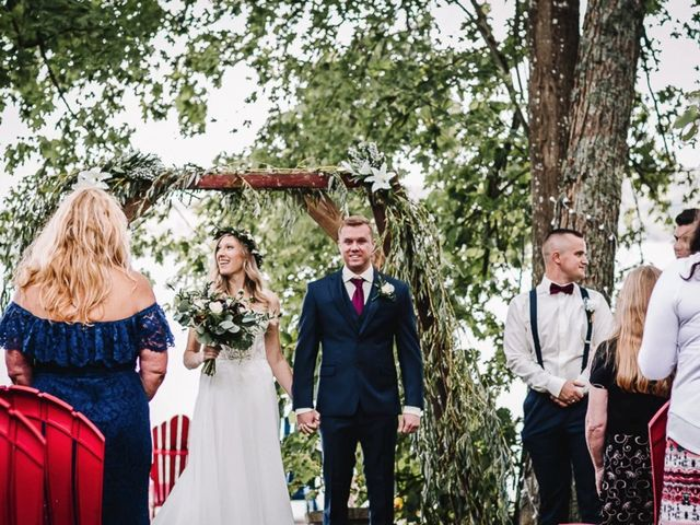 Bethany and Todd's wedding in Coboconk, Ontario 26