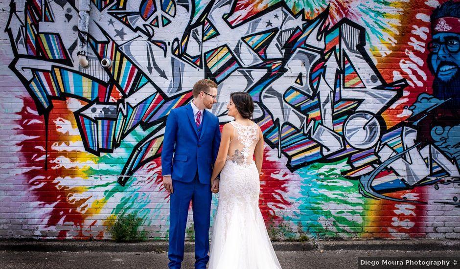 Charles and Christina's wedding in Toronto, Ontario
