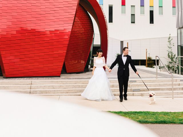 The wedding of Lin and Matt