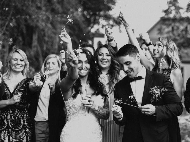 The wedding of Monique and Dan