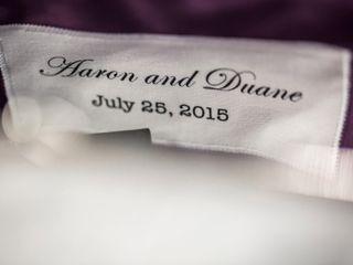 The wedding of Duane and Aaron 1