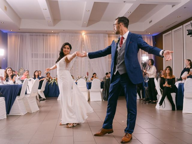 The wedding of Rosemarie and Konstantinos
