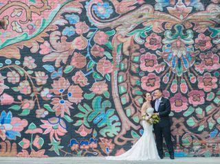 The wedding of Lindsay and Jason