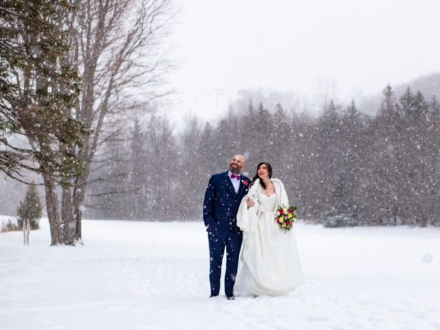 The wedding of Rosie and Shayne