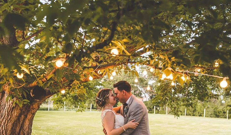 Andrew and Carlie's wedding in Niverville, Manitoba