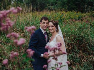 The wedding of Josee and Nick