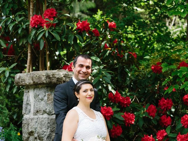 Saeed and Roxana's wedding in Vancouver, British Columbia 16