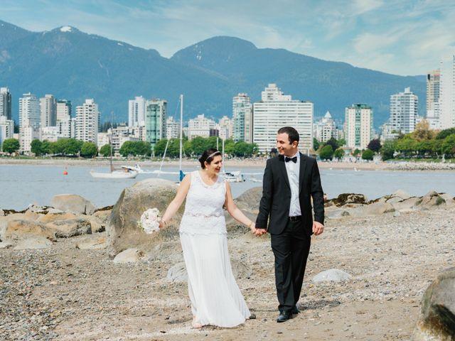 Saeed and Roxana's wedding in Vancouver, British Columbia 1