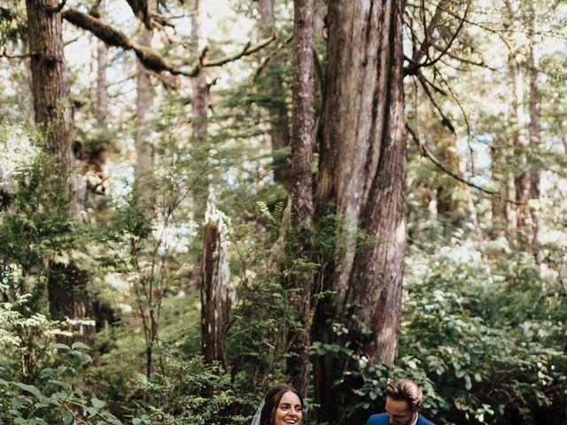 James and Tiffany's wedding in Tofino, British Columbia 12