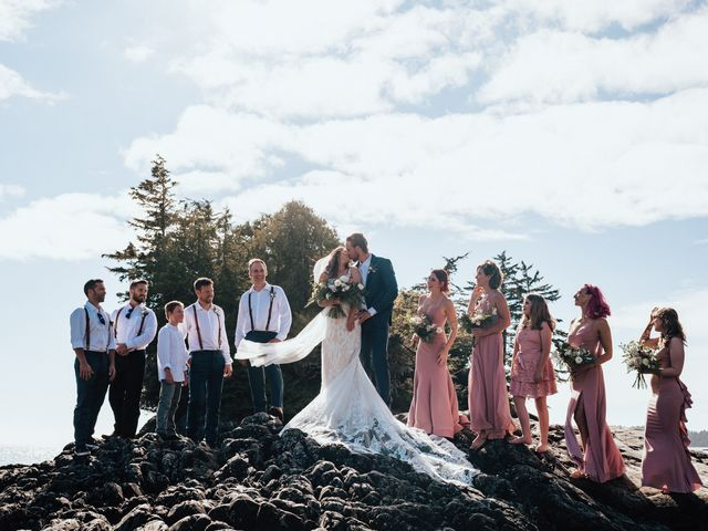 James and Tiffany's wedding in Tofino, British Columbia 15