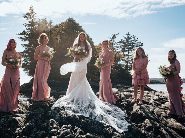 James and Tiffany's wedding in Tofino, British Columbia 16