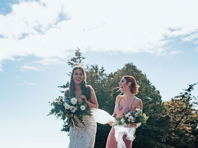 James and Tiffany's wedding in Tofino, British Columbia 18