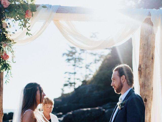James and Tiffany's wedding in Tofino, British Columbia 23