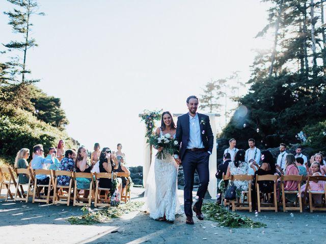 James and Tiffany's wedding in Tofino, British Columbia 26