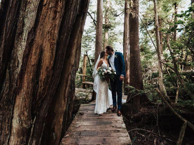 James and Tiffany's wedding in Tofino, British Columbia 54