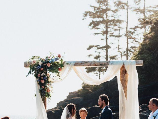 James and Tiffany's wedding in Tofino, British Columbia 57