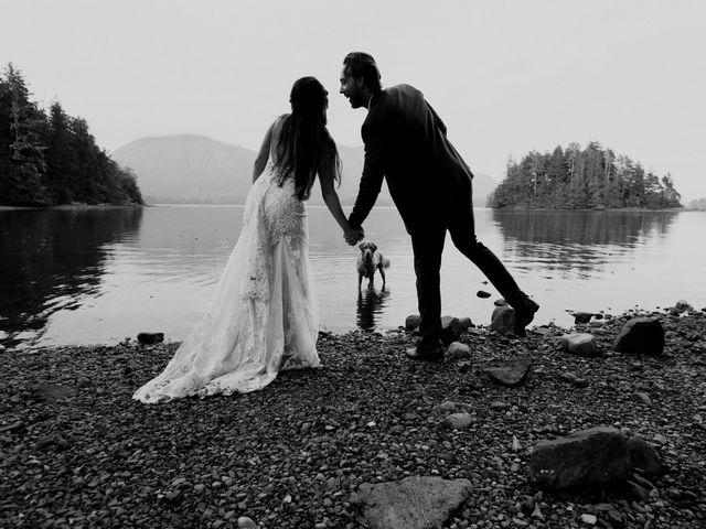 James and Tiffany's wedding in Tofino, British Columbia 62