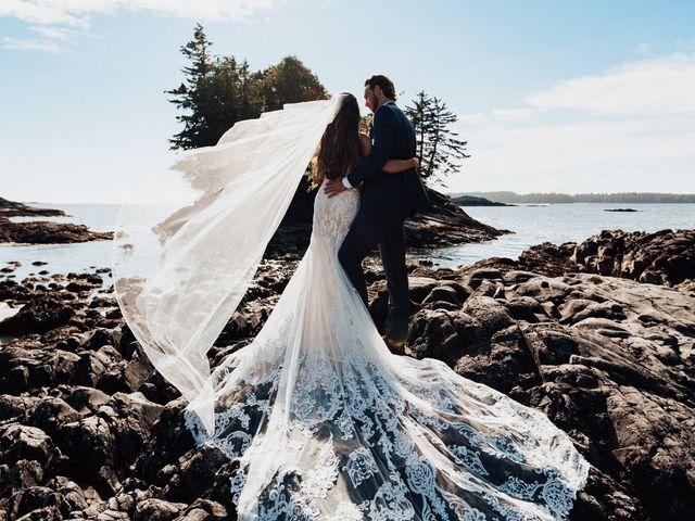 James and Tiffany's wedding in Tofino, British Columbia 69