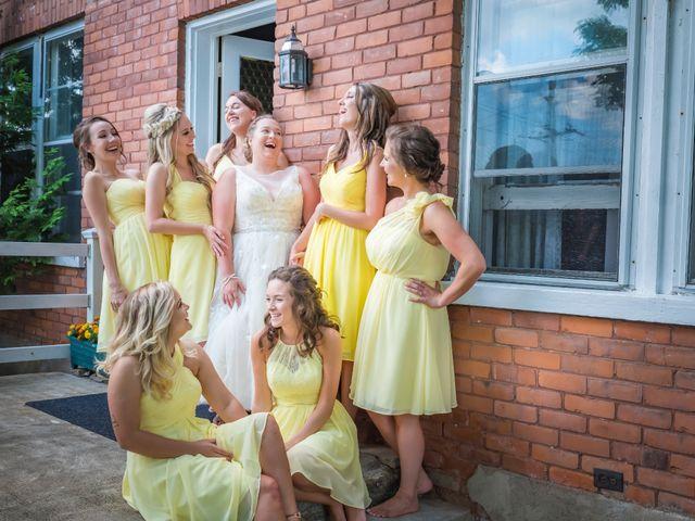 Jacob and Samantha's wedding in Huntsville, Ontario 14