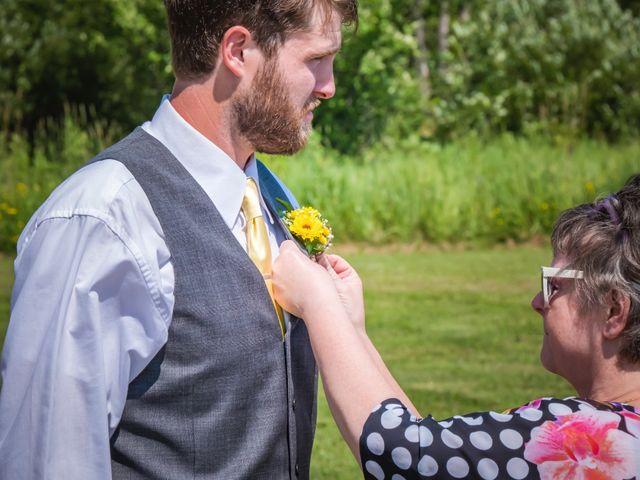 Jacob and Samantha's wedding in Huntsville, Ontario 16