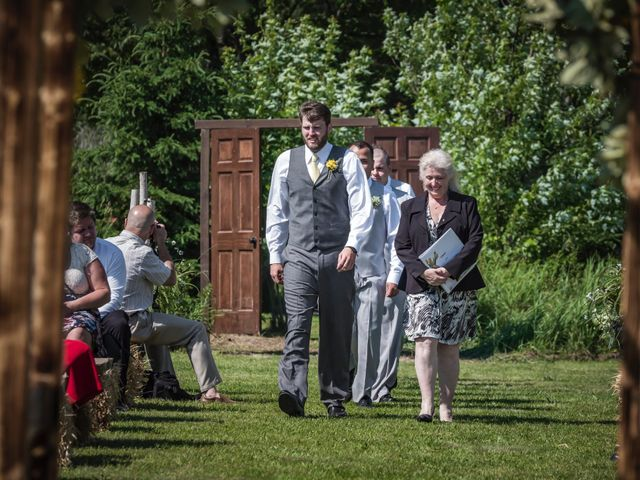 Jacob and Samantha's wedding in Huntsville, Ontario 24
