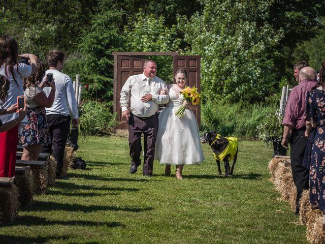 Jacob and Samantha's wedding in Huntsville, Ontario 25