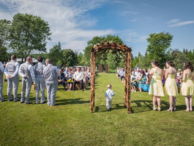 Jacob and Samantha's wedding in Huntsville, Ontario 35